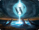 WordPress logo (created by Collin Allen, http://www.command-tab.com/)