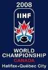 MS Hokej 2008 - logo