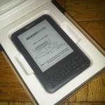 Kindle 3 - v krabici